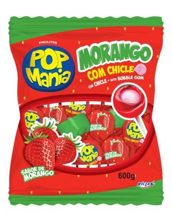 PIRULITO POP MANIA MORANGO 50UN