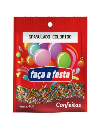 GRANULADO FACA A FESTA COLORIDO 40G