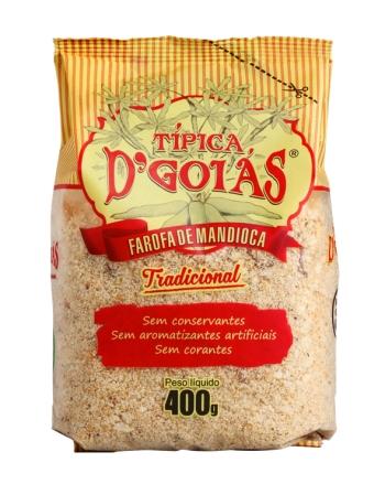 FAROFA MAND TP DGOIAS TRADICIONAL 400G