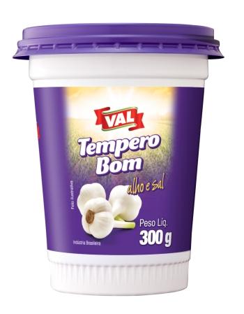 TEMPERO ALHO E SAL VAL 300G