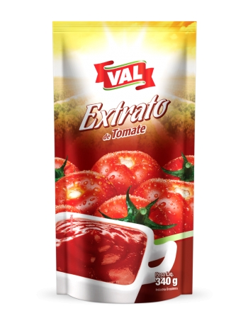 EXTRATO TOMATE VAL SACHE 340G