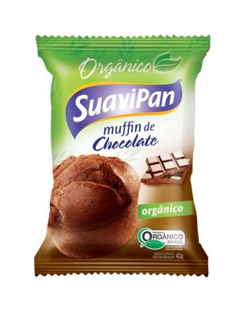 MUFFIN ORGANICO DE CHOCOLATE DPL 12X40G