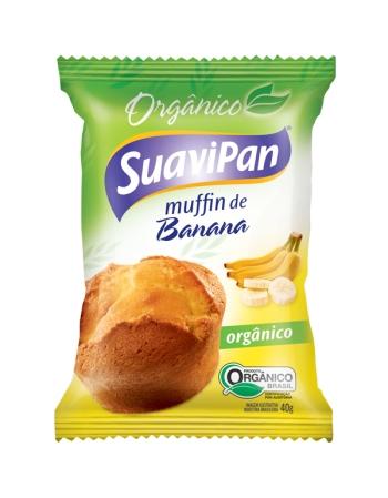 MUFFIN ORGANICO DE BANANA DPL 12X40G