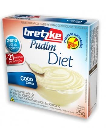 PUDIM BRETZKE DIET COCO 25G