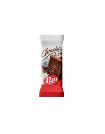 CHOCOLATE PAN ZERO ACUC AO LEITE DP 12X30G