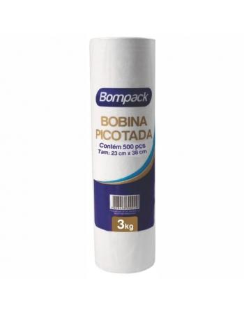 BOBINA BOMPACK 3KG 23X38 500UN