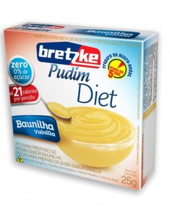 PUDIM BRETZKE DIET BAUNILHA 25G