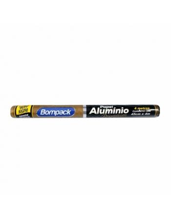 PAPEL ALUMINIO BOMPACK PREMIUM 45X4MT