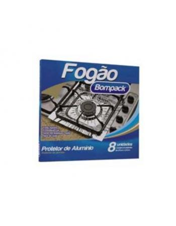 PROTETOR DE FOGAO BOMPACK 27X27CM 08UN