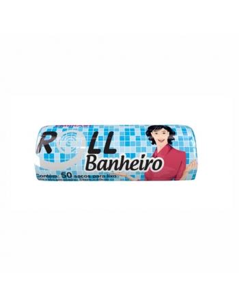 SACO LIXO BAG BANHEIRO 34X40 50UN